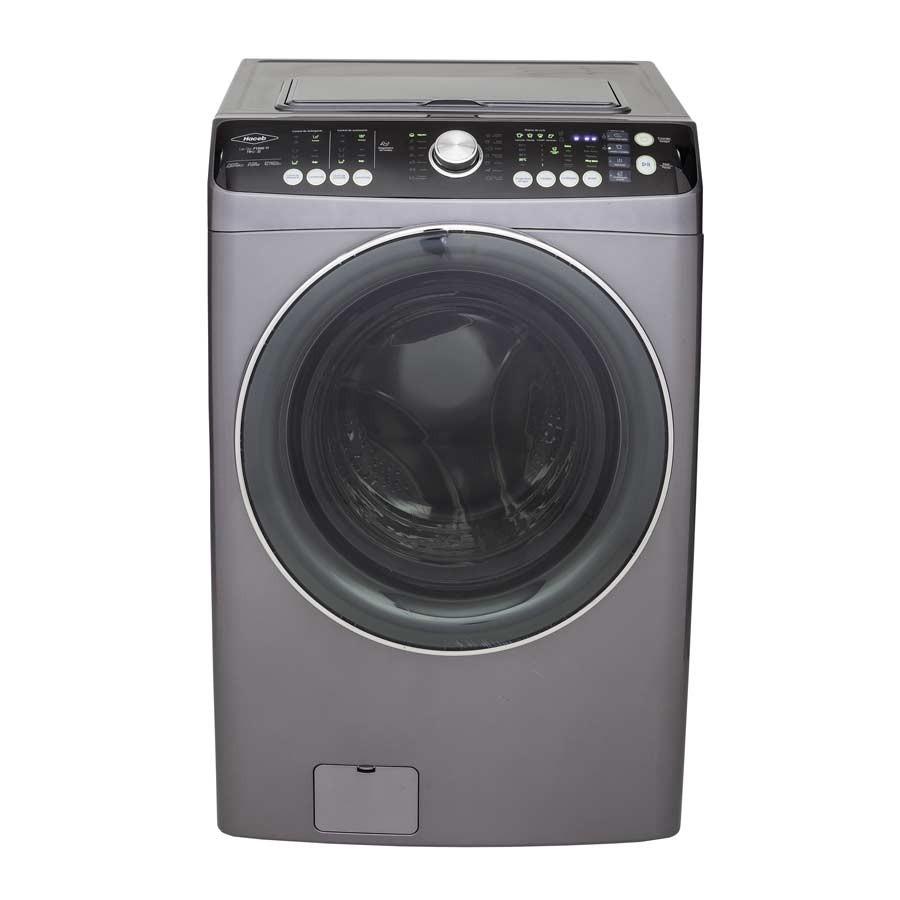 Lavadora secadora haceb 15kg carga frontal f1500zf gris for Lavadoras pequenas carga frontal