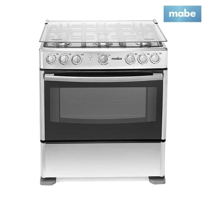 Estufa mabe 30 horno grill emc30kxx 4 alkosto tienda online for Estufa industrial con horno