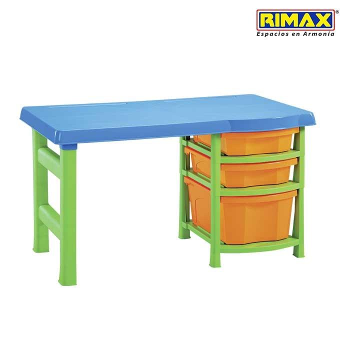escritorio infantil rimax multicolor ii obsequio alkosto
