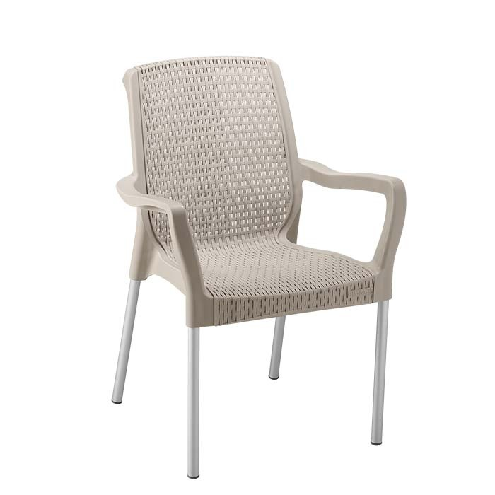 Silla rimax shia con brazos taupe alkosto tienda online for Coches con silla para carro