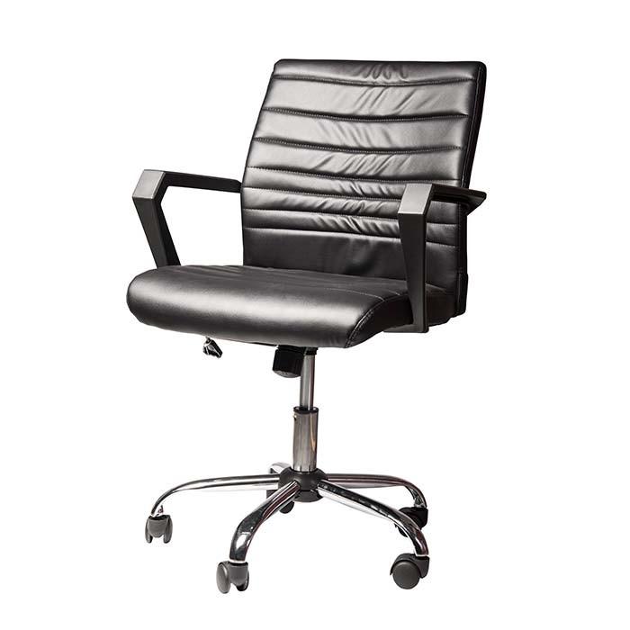 Silla de oficina tukasa w 159 negra alkosto tienda online for Sillas para oficina bogota
