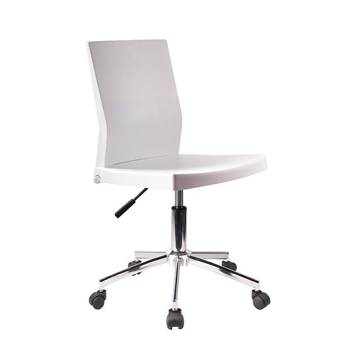 Silla de oficina tukasa 2208 blanca alkosto tienda online for Sillas de escritorio blancas