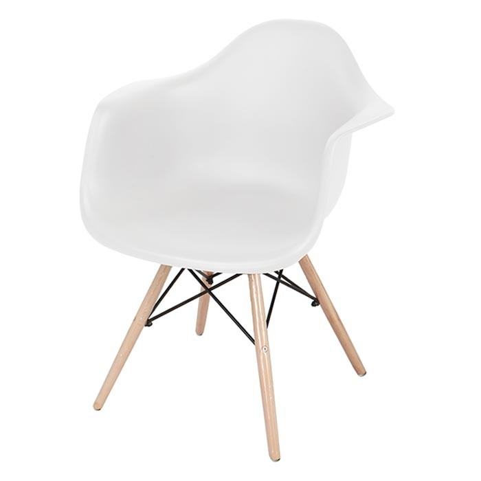 Silla de dise o tukasa blanca 80048g alkosto tienda online for Sillas de diseno blancas
