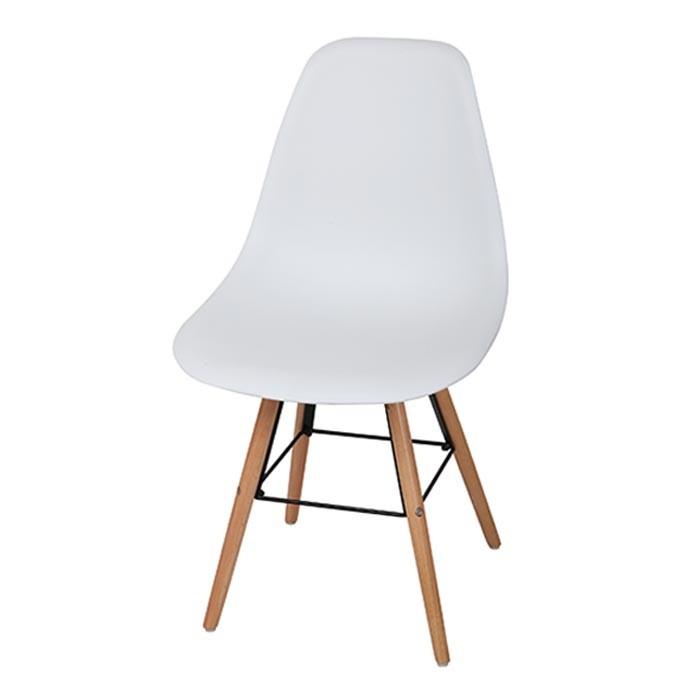 Silla de dise o tukasa blanca 80025c alkosto tienda online for Sillas de diseno online