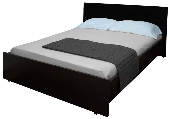 cama doble maderkit piecero al piso wengue alkosto tienda