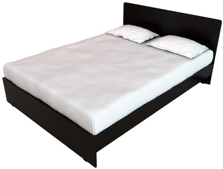 Cama doble maderkit puntas redondeadas wengue alkosto - Doble cama para ninos ...