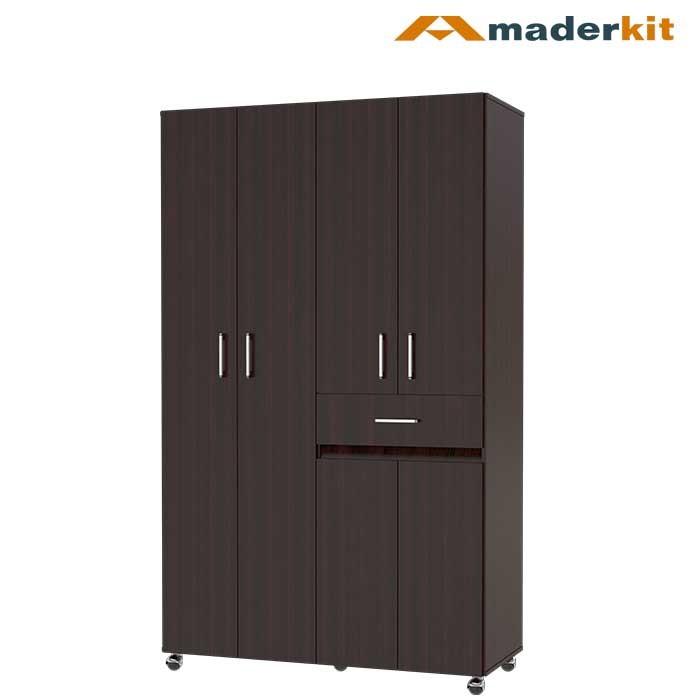 armario maderkit nova 120 wengue alkosto tienda online
