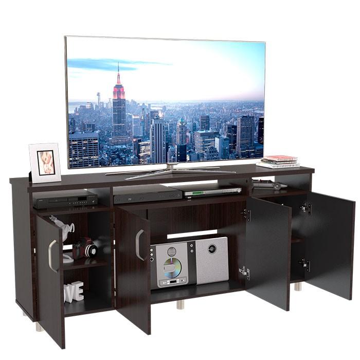 Mesa Para Tv 65 Maderkit Cali 160 Wengue Alkosto Tienda