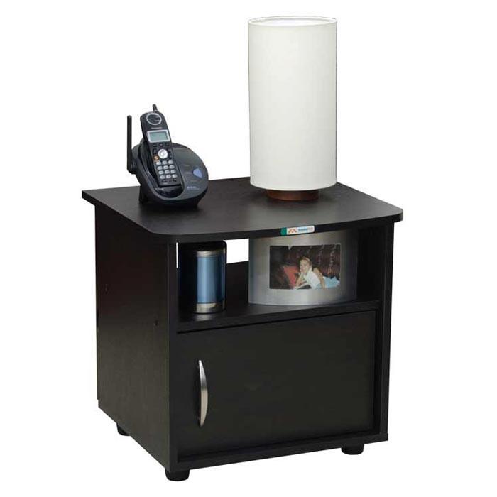 Mesa de noche maderkit wengue alkosto tienda online - Mesas de noche modernas ...