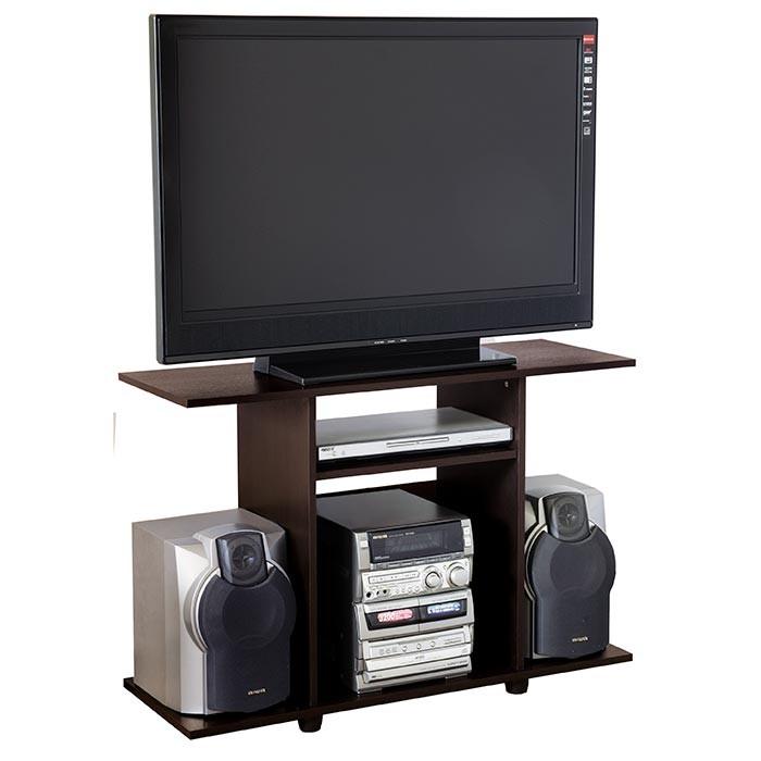 Mesa para tv 32 maderkit bk31703 wengue alkosto tienda online for Muebles para televisor y equipo de sonido