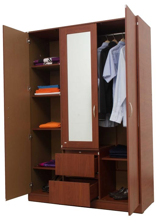 Closet espejo maderkit 3437 cedro alkosto tienda online for Espejos decorativos bogota