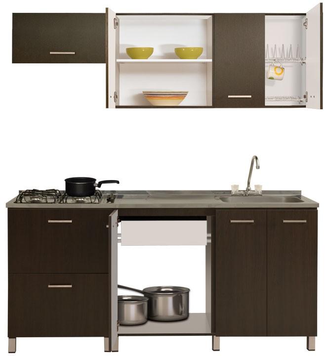 Cocina moduart gabinete superior inferior izquierdo for Dimensiones cocina integral