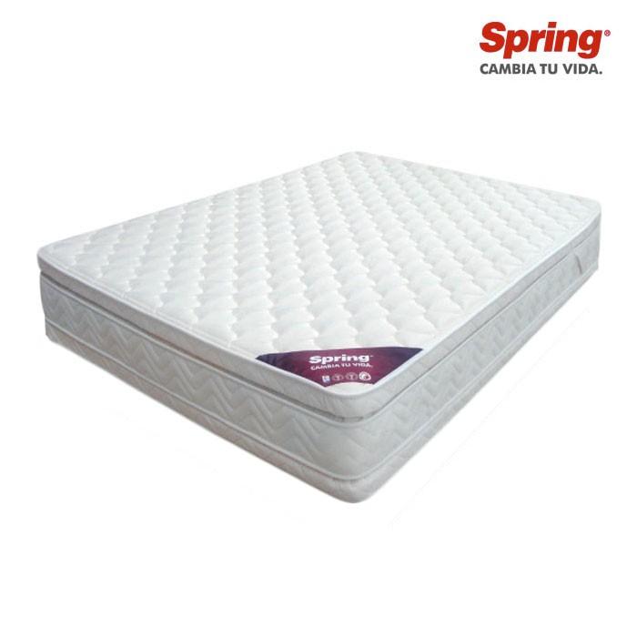 Colchon spring doble descanso perfecto 140x190 cm alkosto tienda online - Colchones spring ...