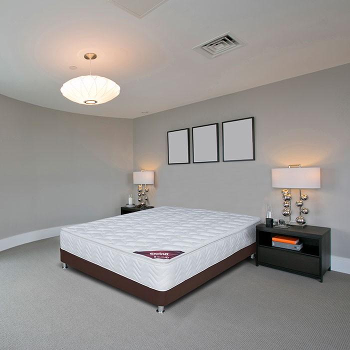 KOMBO SPRING: Colchón Doble 140 x 190 cm Pillow top + Base Cama ...
