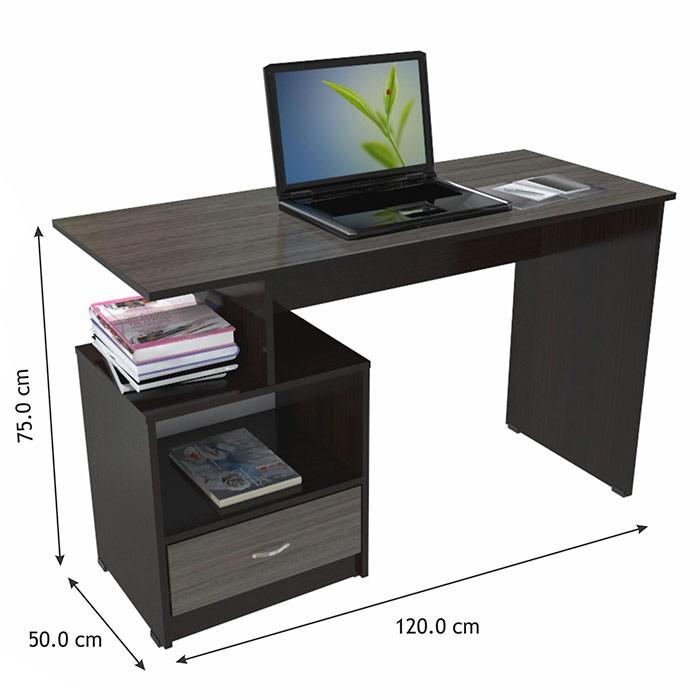 Escritorio inval 4603 wengue humo alkosto tienda online for Escritorio ergonomico caracteristicas