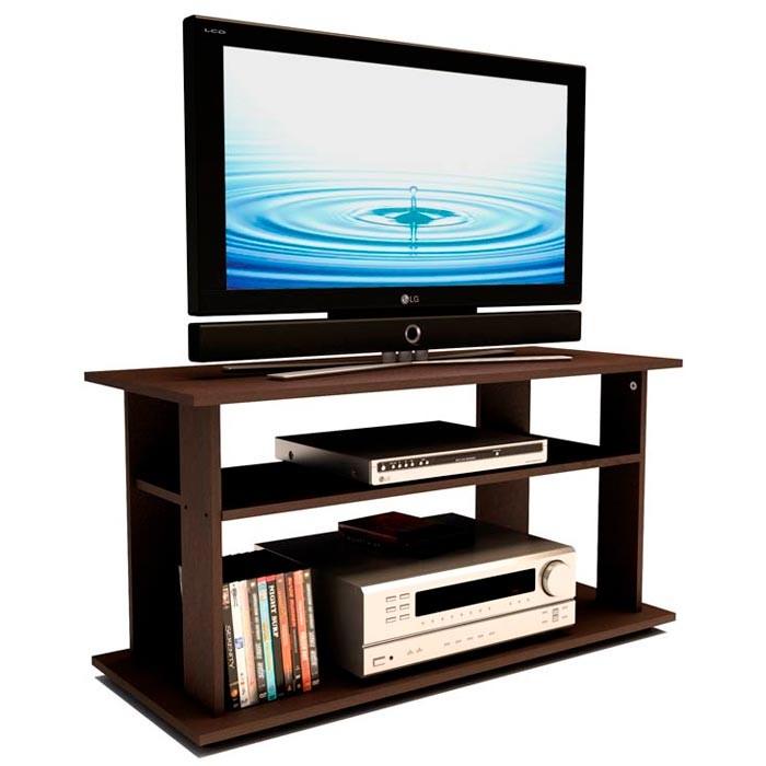 Mesa para tv 42 practimac e1 wengue alkosto tienda online for Muebles para televisor y equipo de sonido