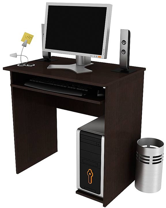 Mueble para computador practimac pm3400471 wengue alkosto for Muebles para computadora