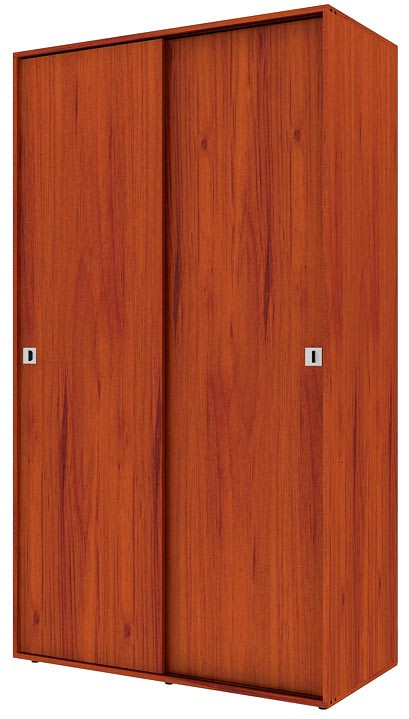 Armario puertas corredizas practimac pm3100771 cedro for Puertas corredizas