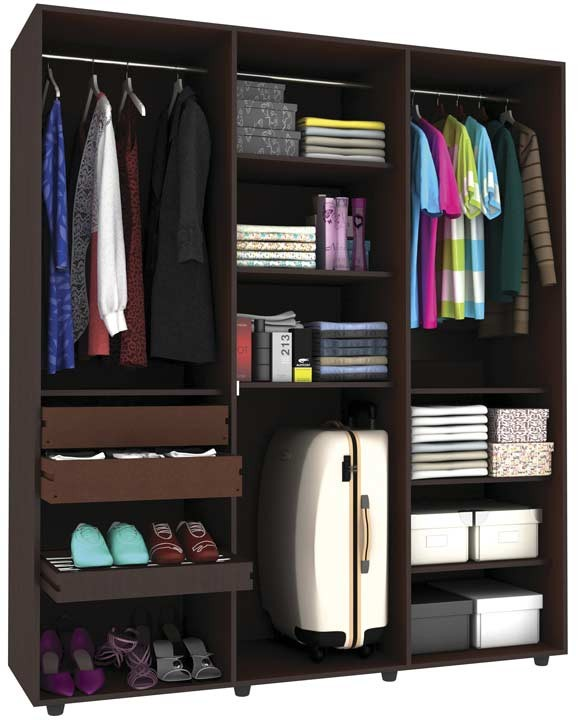 Armario ensue o practimac 1 6 v3 pm3400856 wengue alkosto tienda online - Mi armario de la tele ...
