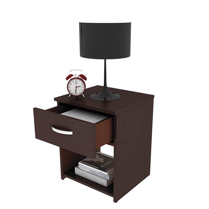 mesa de noche practimac arual wengue alkosto tienda online