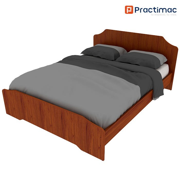 Cama Doble PRACTIMAC Arual Cedro 1.4 pm1100227 Alkosto Tienda Online