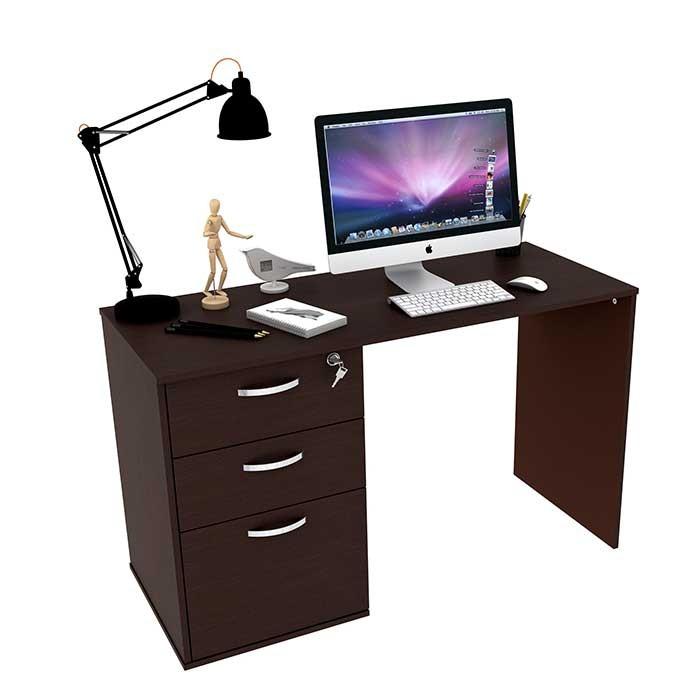 Escritorio practimac milano wengue alkosto tienda online for Computadoras para oficina