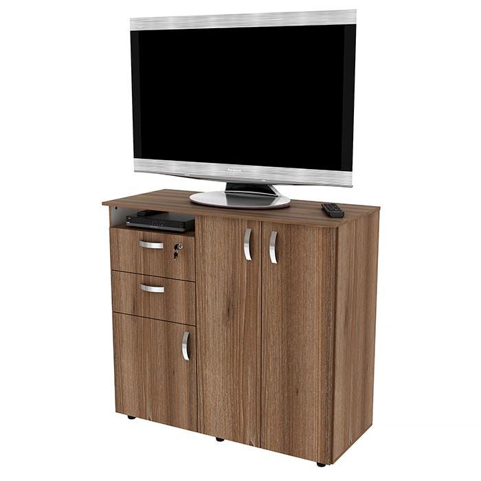 Armario para TV PRACTIMAC Complex 1.2 Miel Alkosto Tienda Online