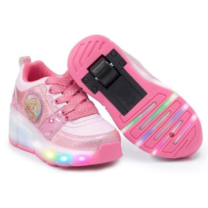 ca46c7c8c0b BARBIE Zapato Ruedas Barbie Talla 29 Rosado Alkosto Tienda Online
