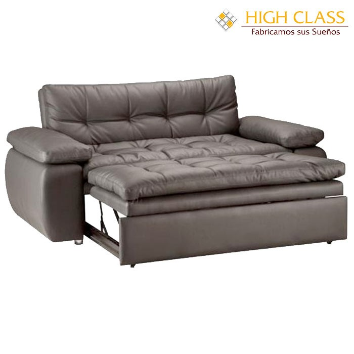 Sof cama high class car yoga chocolate alkosto tienda online for Sofa cama 120 cm ancho