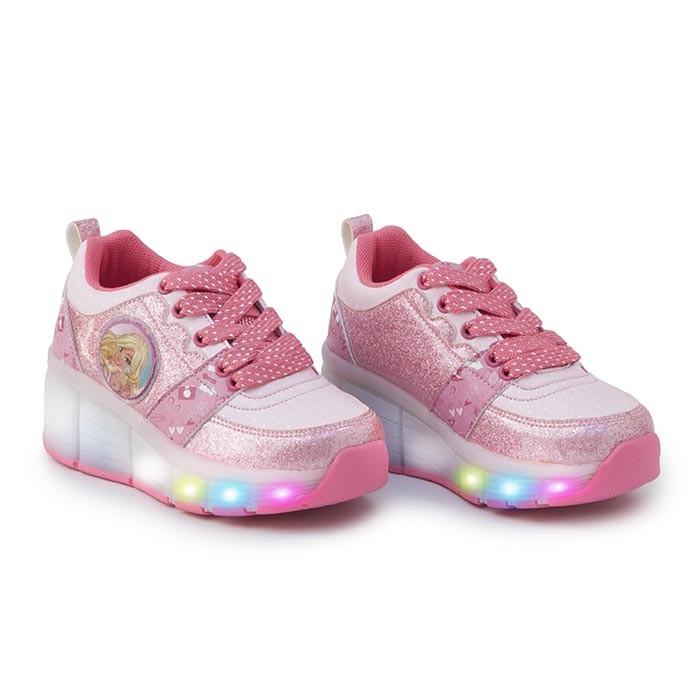 91aac66c9516a Zapato Ruedas Barbie Talla 32 Rosado Alkosto Tienda Online