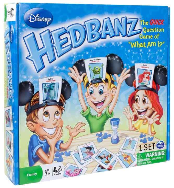 Hedbanz Juego De Mesa Disney Alkosto Tienda Online