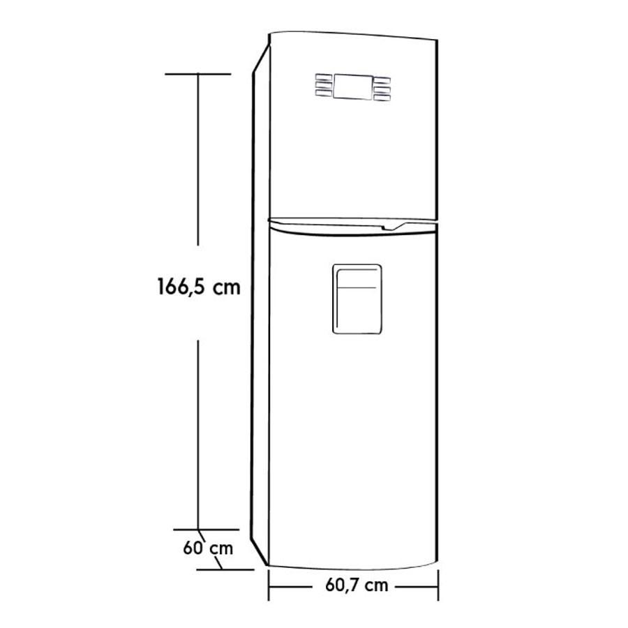 Nevera electrolux 320 litros ert32l3cni alkosto tienda online - Dimensiones de una nevera ...