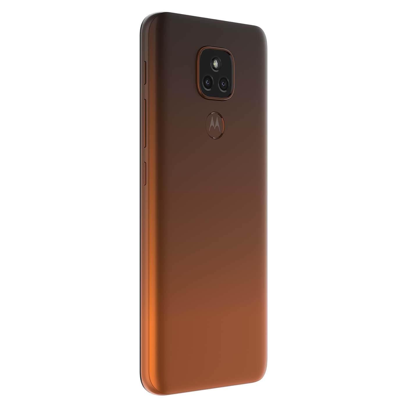 Celular Libre Motorola E7 Plus Naranja