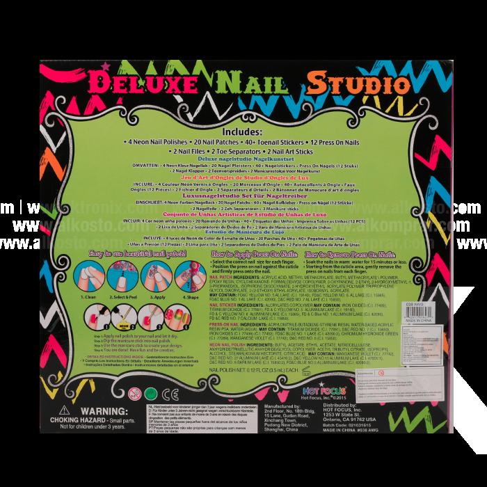 Set Uñas Deluxe Nail Studio Alkosto Tienda Online