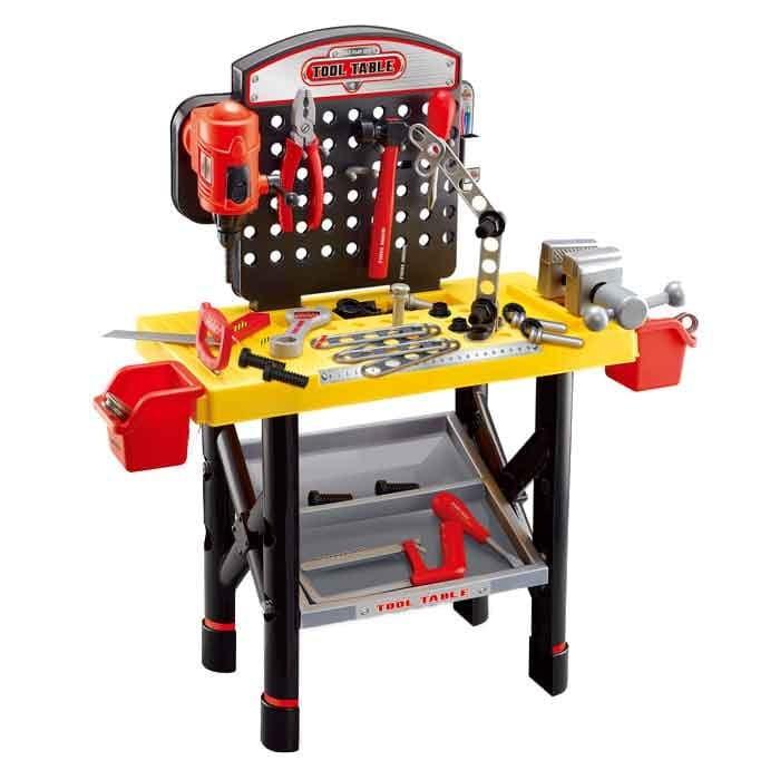 Sfl playset mesa de trabajo con herramientas alkosto for Mesa herramientas