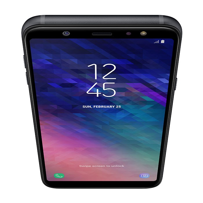 celular samsung galaxy a6 plus ds 4g negro alkosto tienda. Black Bedroom Furniture Sets. Home Design Ideas