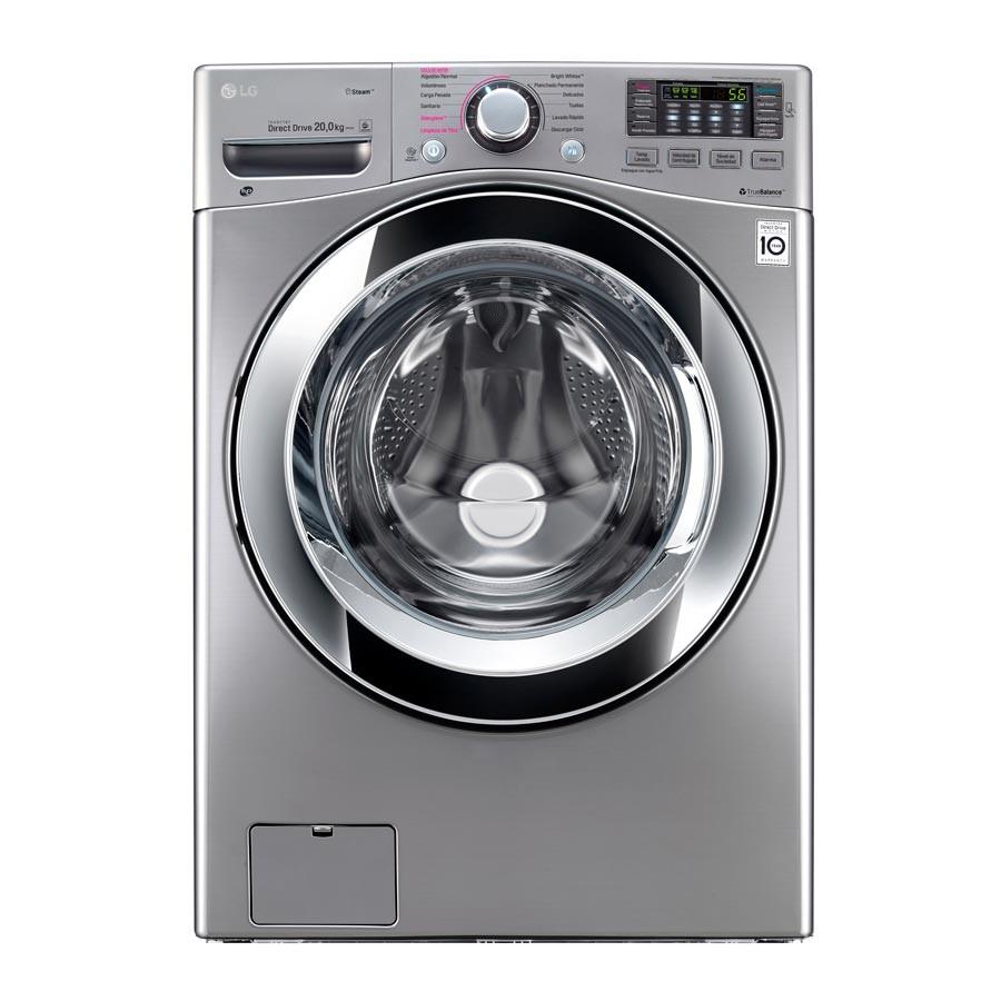 Lavadora secadora lg cf 20 kg wd20vvs6 silver alkosto - Mueble para lavadora y secadora ...