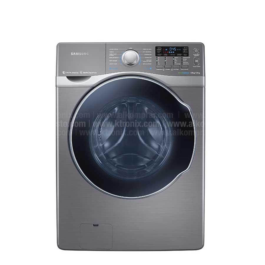 Lavadora secadora samsung 18kg wd18h7300kp alkosto - Secadora encima lavadora ...