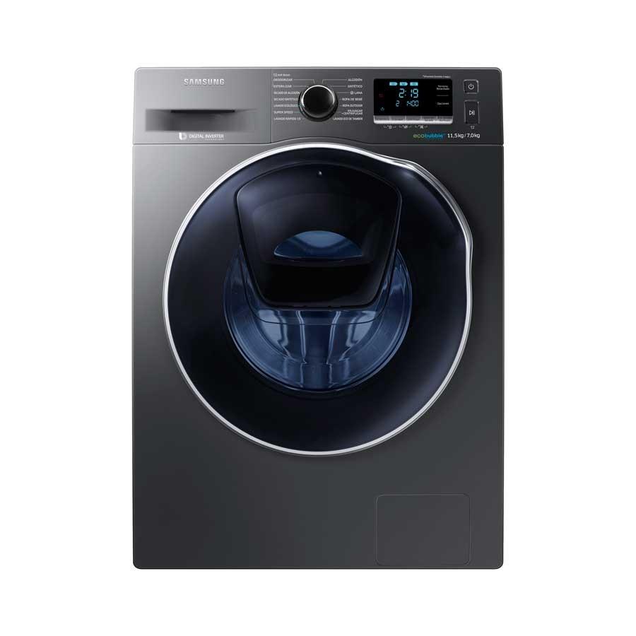 Lavadora secadora samsung cf 11 5kg wd11k6410 inoxidable - Fotos de lavadoras ...