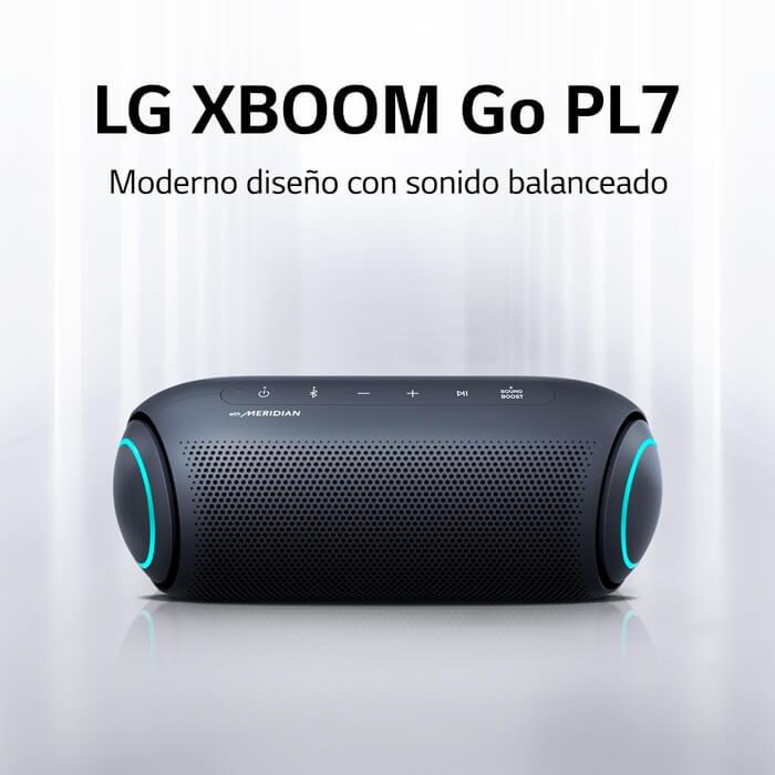 Parlante LG XBOOM Go PL7 Negro