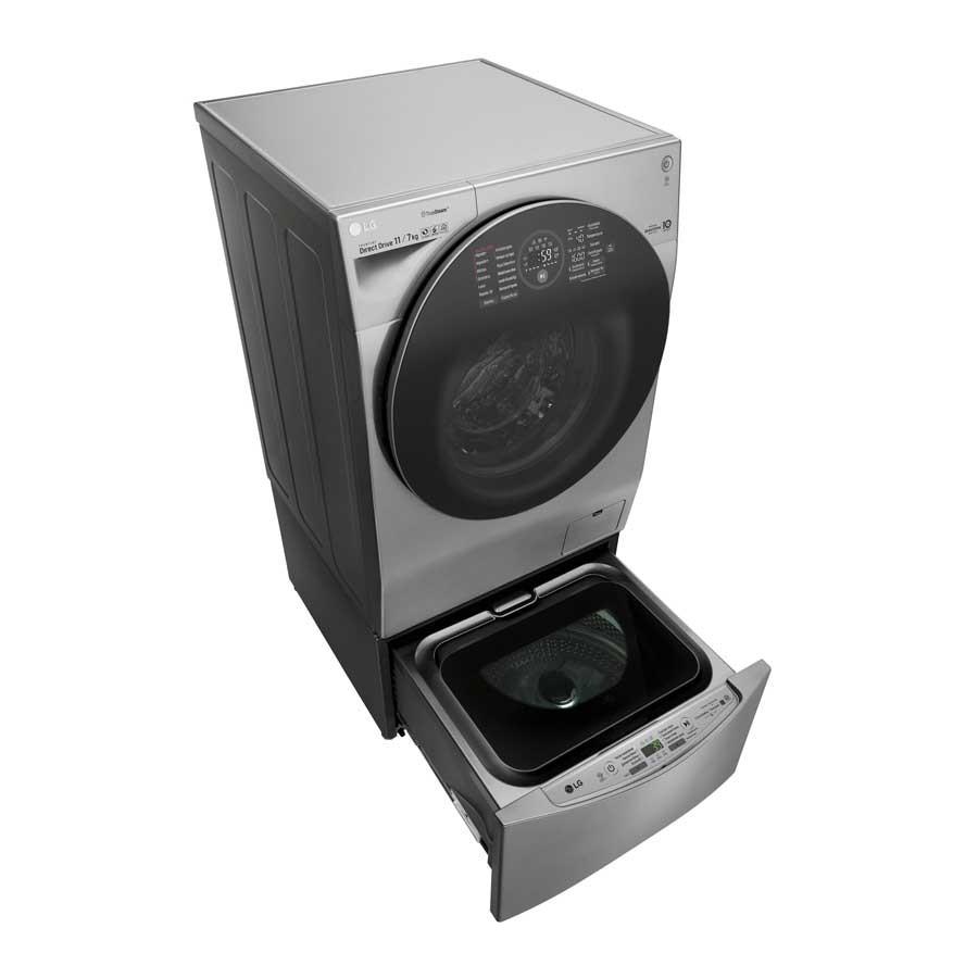 Combo Lavadora / Secadora LG TWINWash WD12VCS6 + WD2100VM