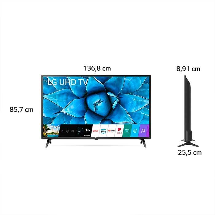 Tv Lg 60 Pulgadas 151 Cm 60un7310 Led 4k Uhd Plano Smart Tv Alkosto Tienda Online