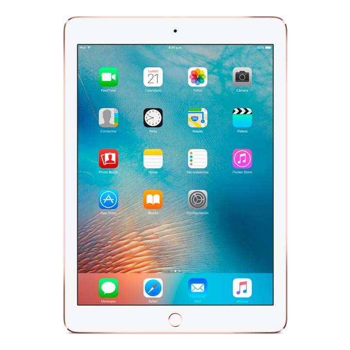ipad pro 9 7 wifi 32gb rose gold alkosto tienda online. Black Bedroom Furniture Sets. Home Design Ideas