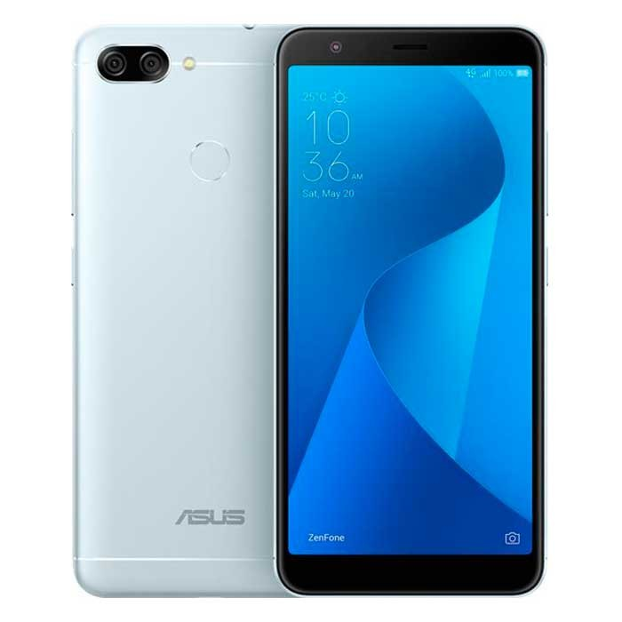 Celular Libre ASUS Zenfone 4 Max Plus Plata DS 4G