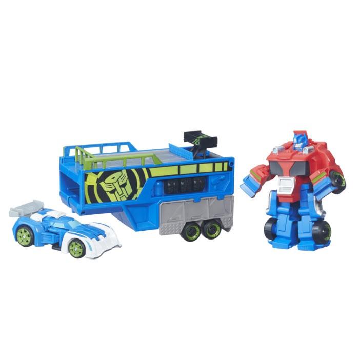 PLAYSKOOL Heroes Optimus Prime Remolque Alkosto Tienda Online