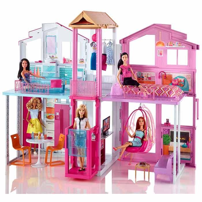Barbie casa de campo alkosto tienda online - La casa de barbie de juguete ...