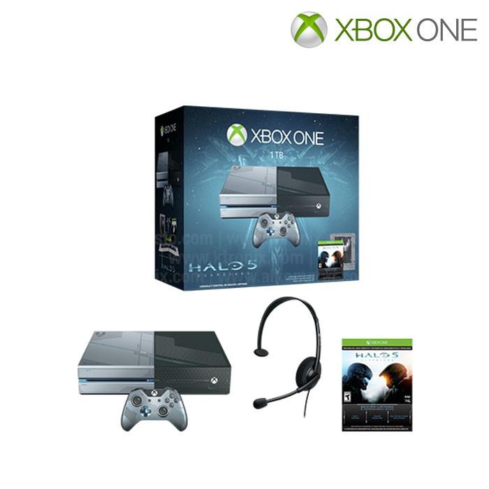 Consola Xbox One 1tb Juego Halo 5 Guardians Alkosto Tienda Online