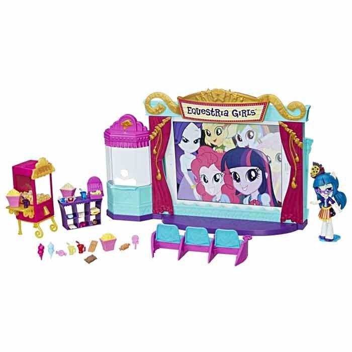 Teatro Mini My Equestria Little Pony Set OkiuPXZ