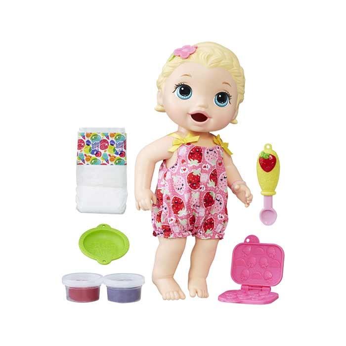 f4e011a09e BABY ALIVE Bebe Hora De Comer Alkosto Tienda Online
