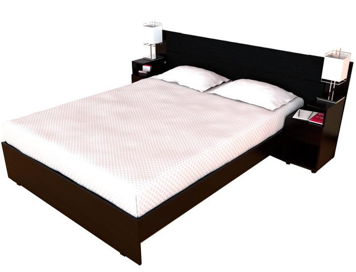 Cama Doble MADERKIT + Mesas de noche incluidas Alkosto Tienda Online